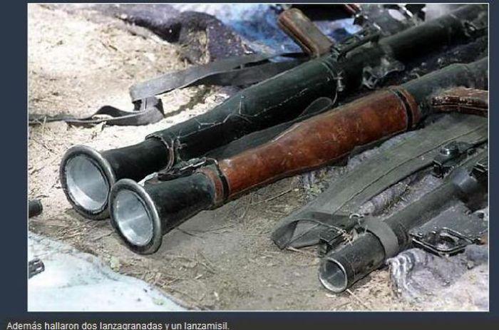 Оружие мексиканских наркоторговцев (30 фото)