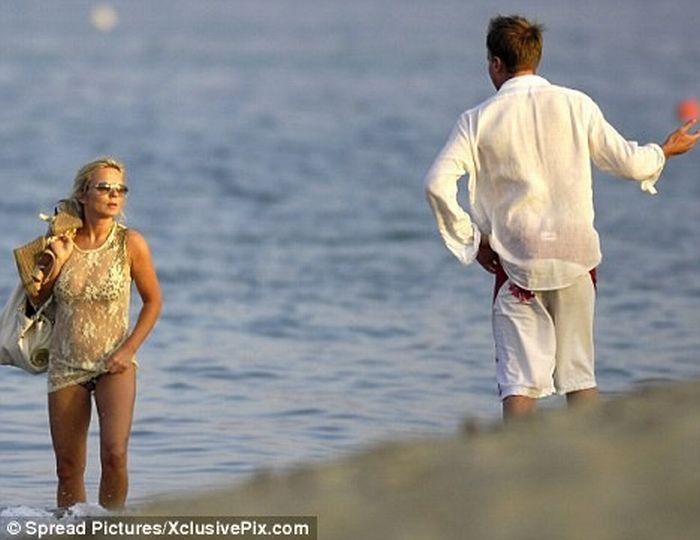Джерри Холливелл ревнует своего парня (5 фото)