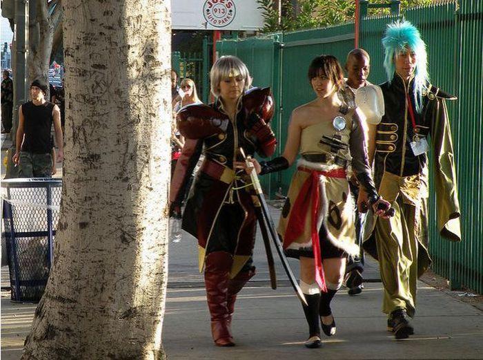Встреча любителей манги и аниме в Лос Анджелесе (55 фото)