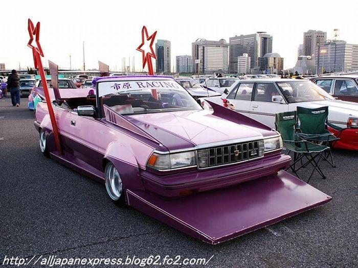 Автомобили в стиле Босозоку (49 фото)