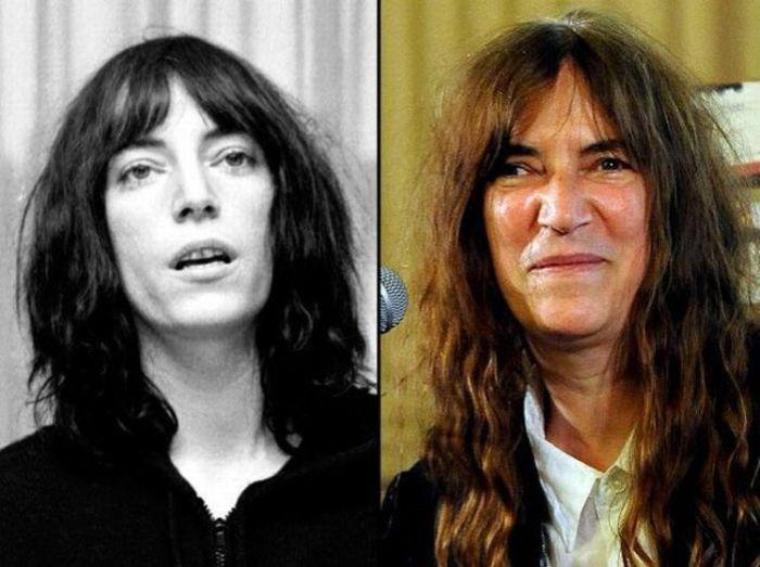 Рок-звезды тогда и сейчас (49 фото)