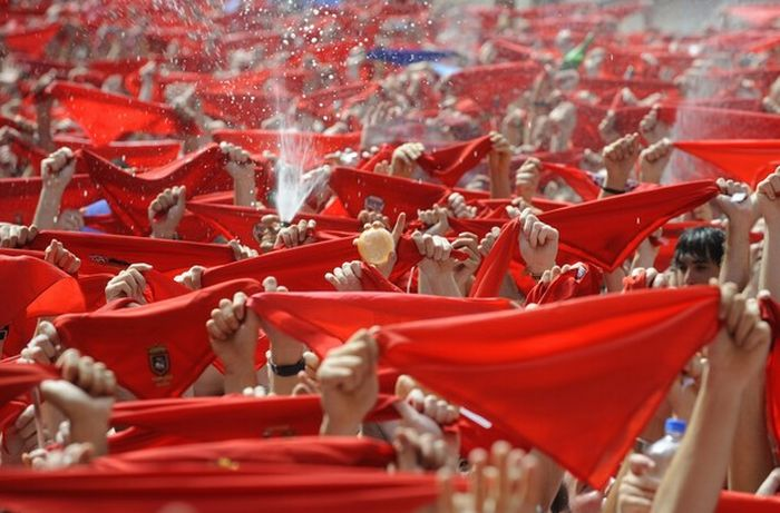 Фестиваль Сан Фермин 2010 (24 фото)