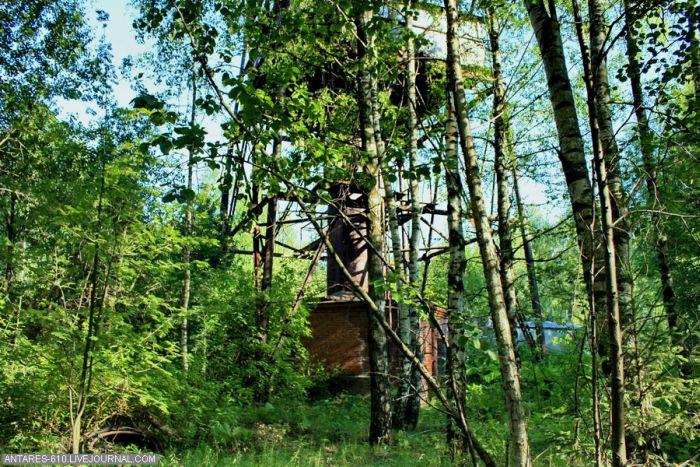 Заброшенные пионерский лагерь и вышка (61 фото)