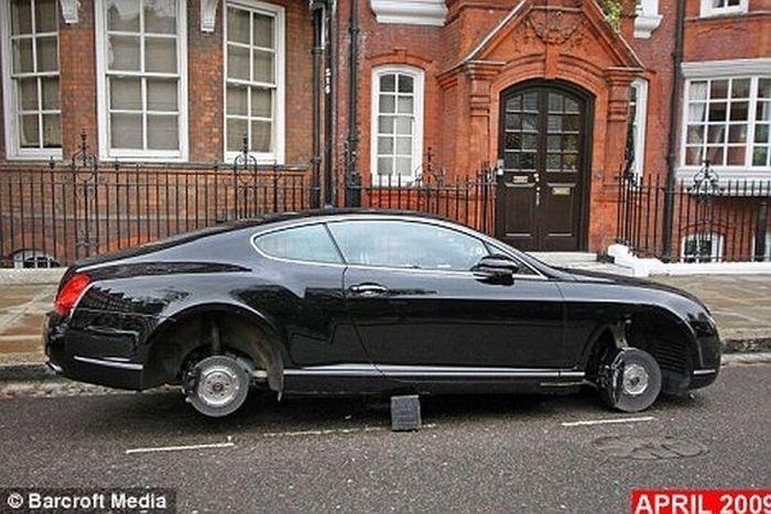 Самый несчастный Bentley Великобритании (3 фото)