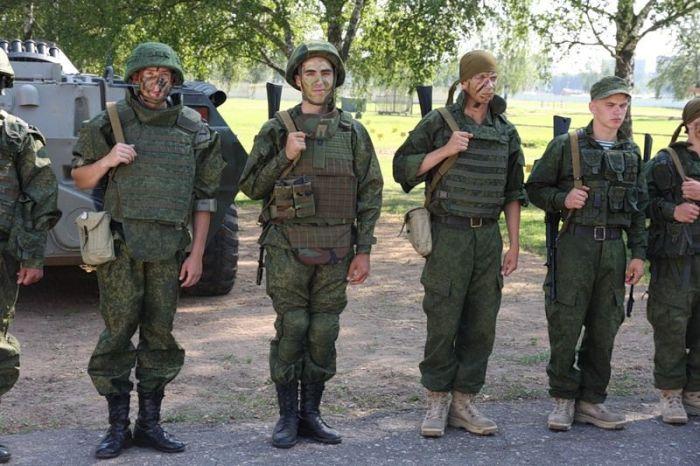 Новая форма российской армии 100 фото