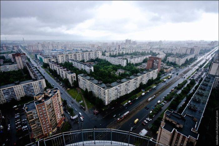 Крыши Санкт-Петербурга (62 фото)