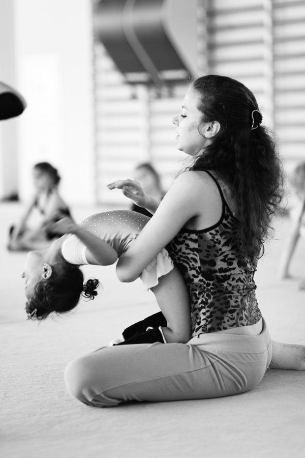 Школа художественной гимнастики в Санкт-Петербурге (15 фото)