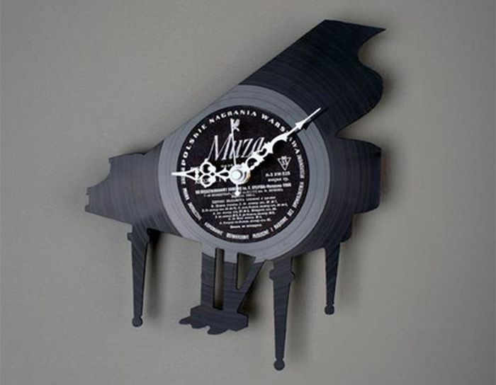 Re_Vinyl - серия дизайнерских часов из виниловых пластинок, Как сделать часы из виниловой пластинки...