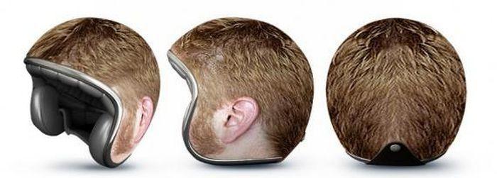 Креативные мотоциклетные шлемы (8 фото)