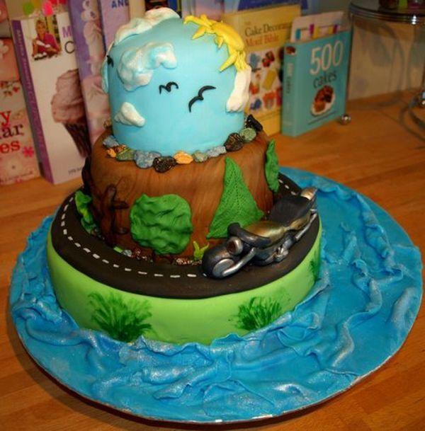Подборка креативных тортов со всего мира (51 фото)