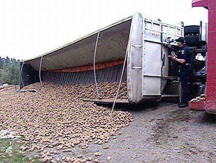 Неудачная перевозка (52 фото)