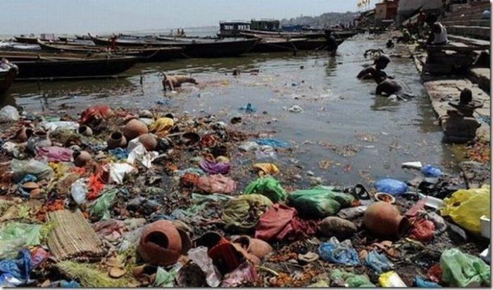 Самые грязные реки мира 22 фото