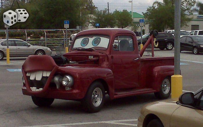 Странные автомобили. Часть 2 (80 фото)