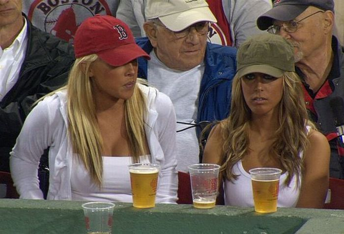 Сексуальные болельщицы Boston Red Sox (41 фото)