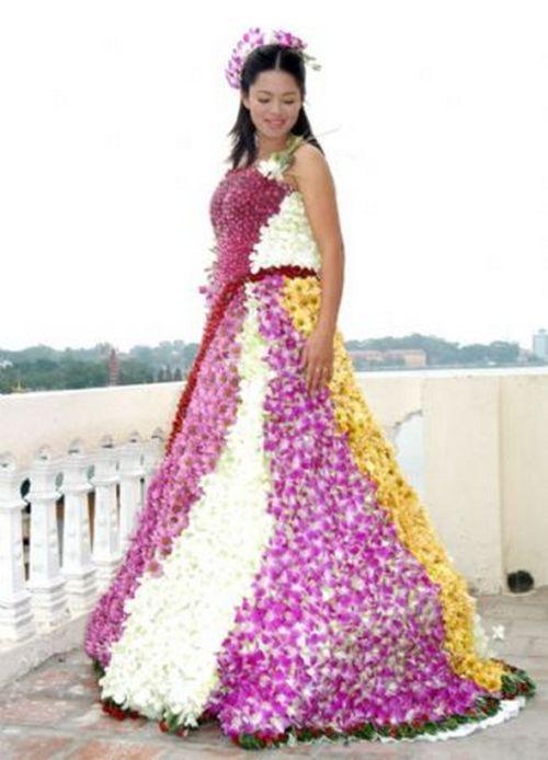 Необычные свадебные платья (27 фото)