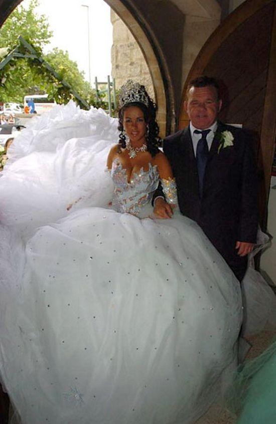 Необычные свадебные платья 27 фото