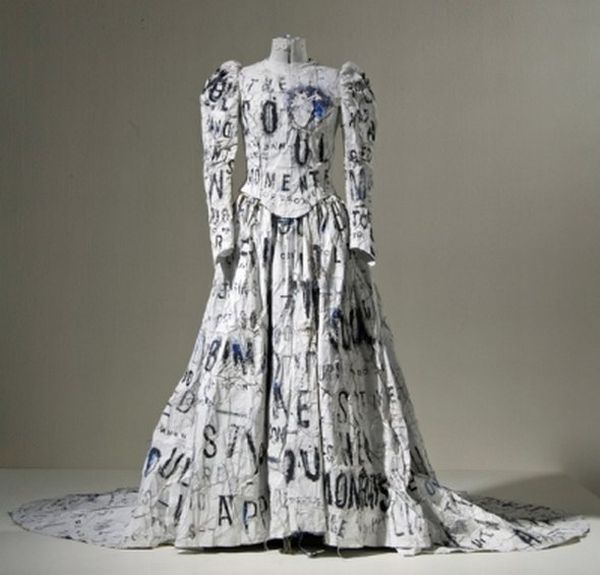 Уникальные свадебные платья 27 фото.  Vujar.  46924 байтДобавлено.