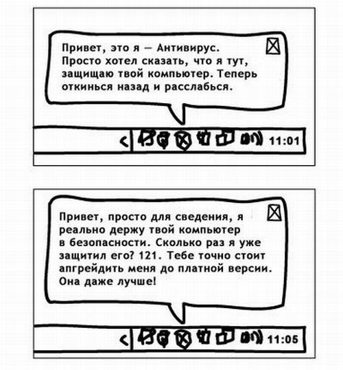 Антивирус для работы в интернете