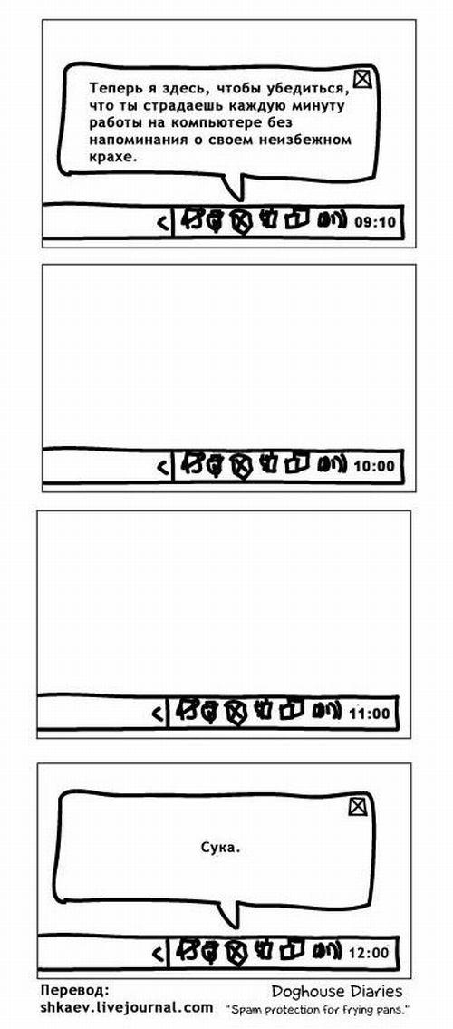 Про бесплатные антивирусы (4 картинки)