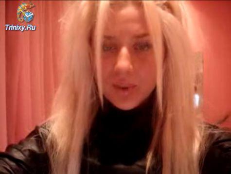 блондинка кристина дает порно видео