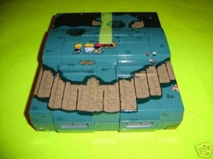 Покрашенные игровые консоли (25 фото)
