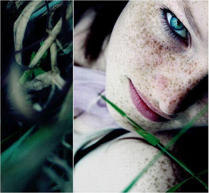 Девушки с веснушками (115 фото)
