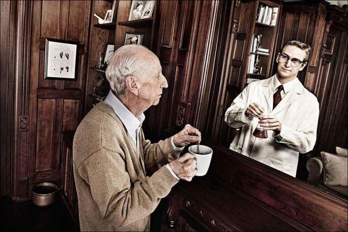 Зеркало воспоминаний (8 фото)