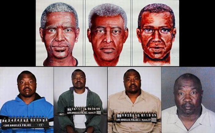 Фотороботы преступников и их реальные фотографии (15 фото)