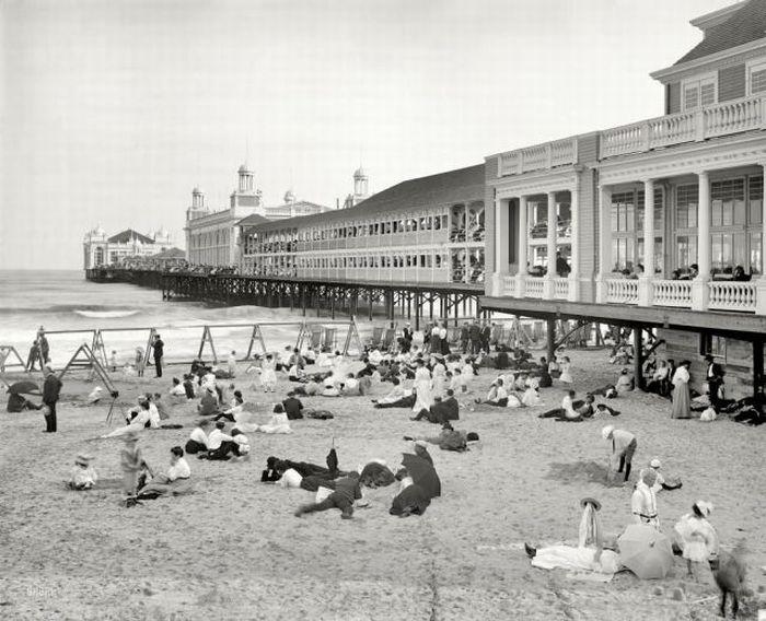 Пляжи прошлого (58 фото)