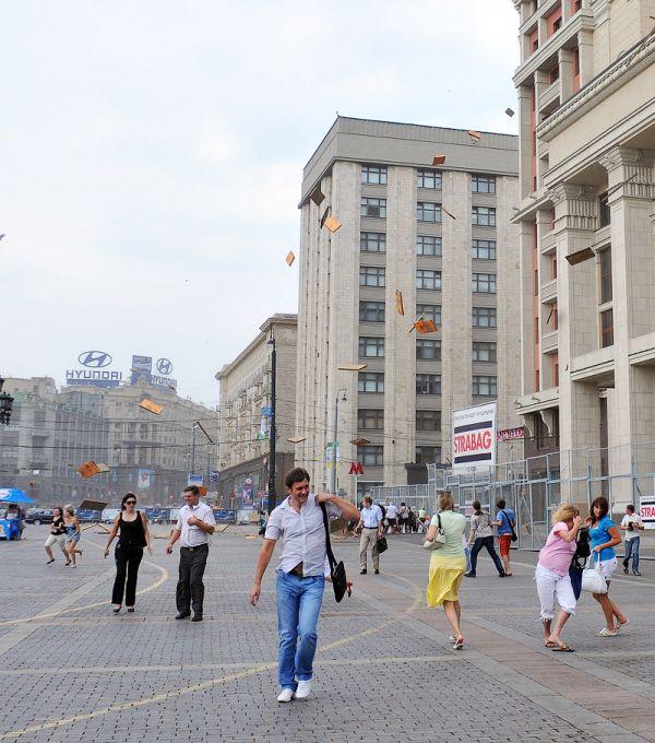 Ураган на Красной площади (11 фото)