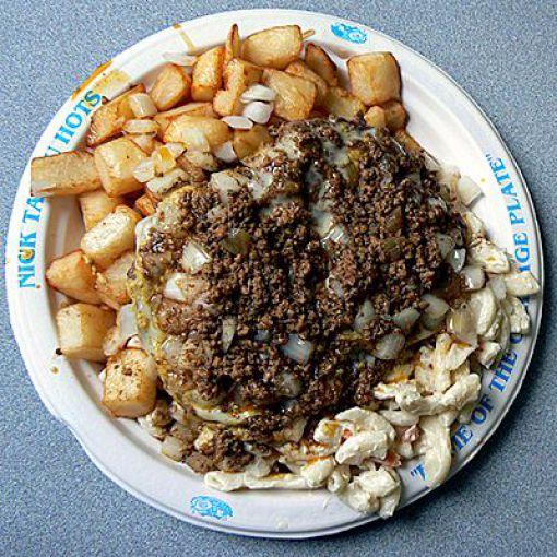 Самые жирные блюда в США (50 фото)