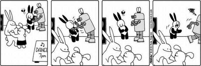 Самый несчастный кролик в мире (45 картинок)