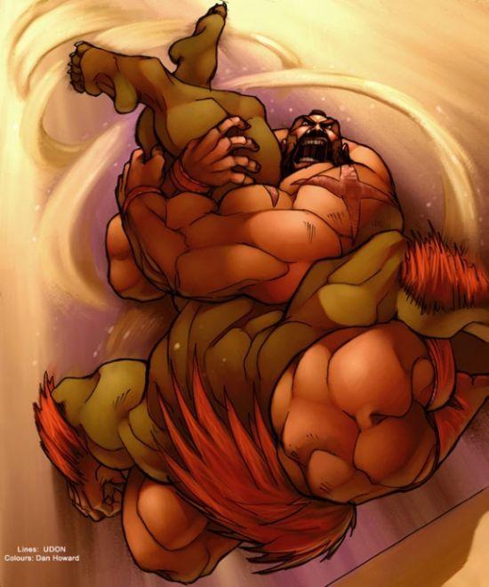 Отличные рисунки по игре Street Fighter (40 картинок)