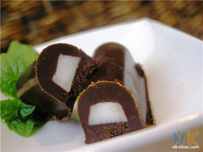 Вкусняшка дня. Сало в шоколаде (3 фото)