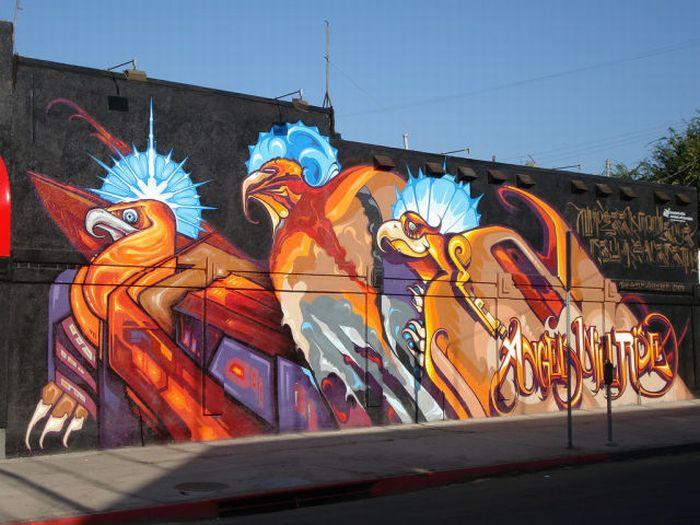 Подборка красивых граффити (65 фото)
