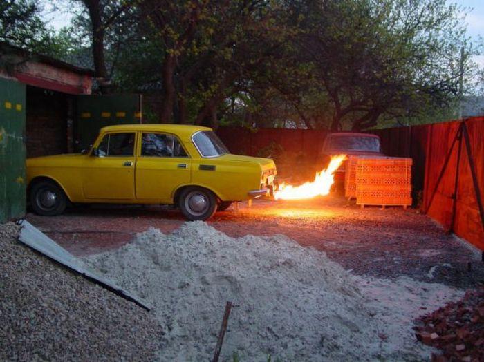 Что можно сделать из старенького Москвича (28 фото)