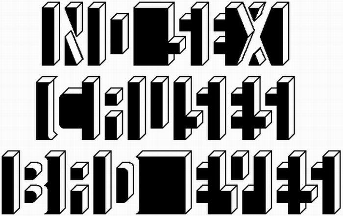Классные оптические иллюзии (40 фото)