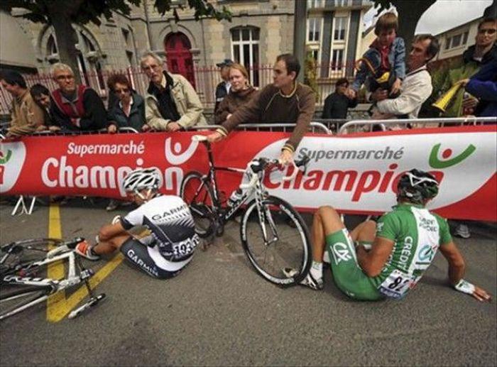 Аварии Тур де Франс (20 фото)