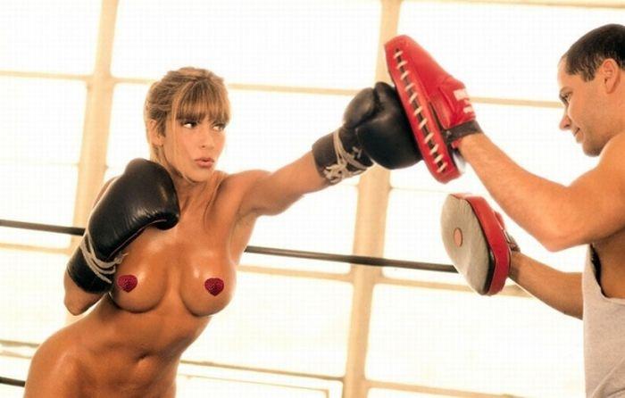 фото голых боксерш