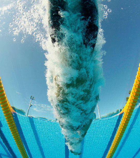 Подводные фотографии пловцов (24 фото)