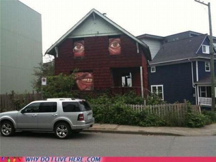Странные соседи (35 фото)