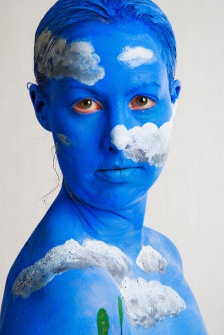 Бодиарт из Швеции (40 фото) НЮ