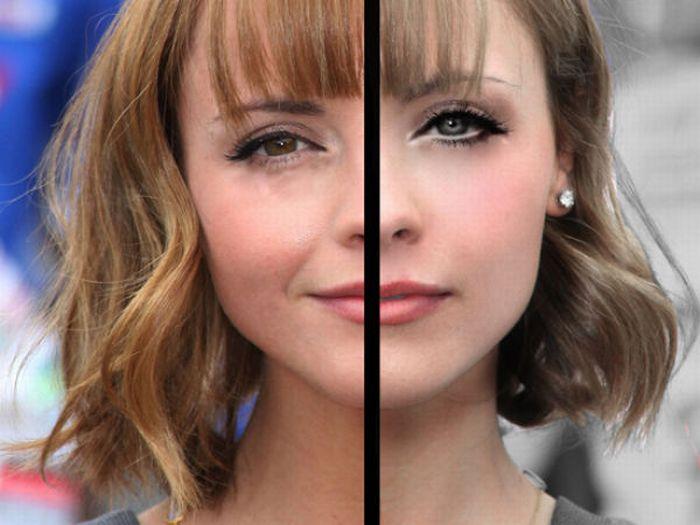 Фотографии звезд до и после обработки (47 фото)