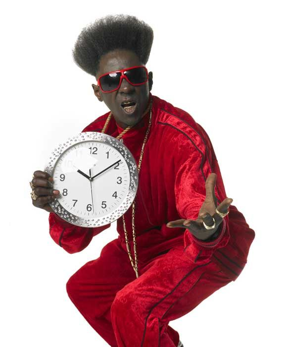 Flavor Flav и его большие часы (27 фото)