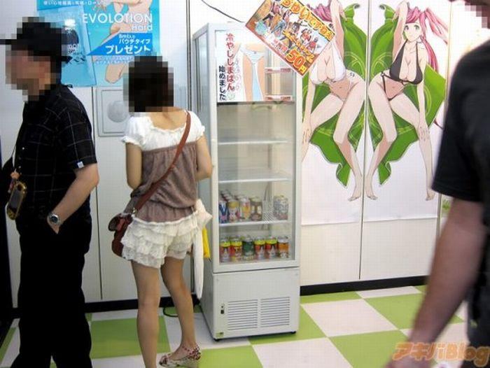 Холодные трусики из Японии (4 фото)