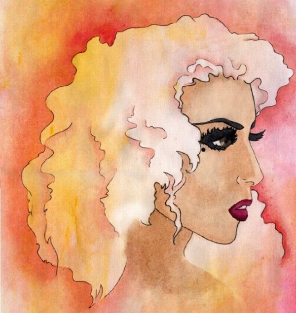 Lady Gaga в рисунках (50 фото)