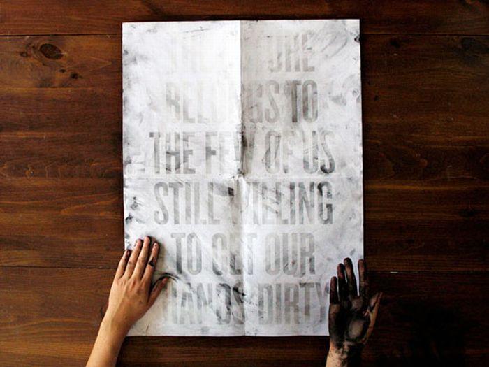 Грязный постер (9 фото)