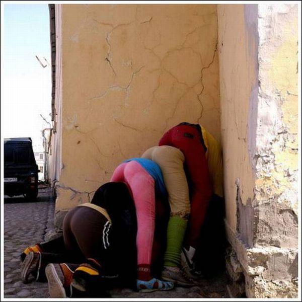 Как развлечься на улице (19 фото)