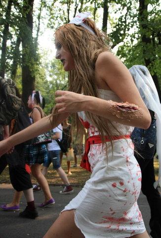 Zombie Walk в Питере (85 фото)