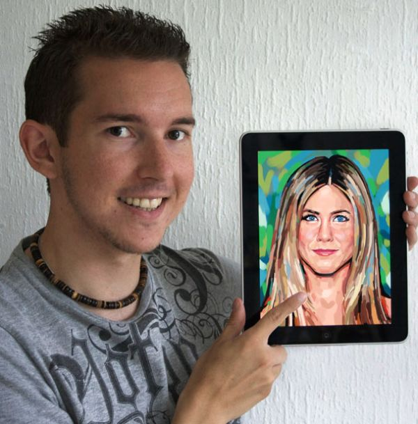 Рисунки звезд на iPad (19 фото)
